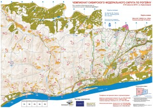 MAP kras-rogaining 20141